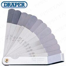 PRECISION Tappet Feeler Gauge Set 0.203-0.66mm AF/Metric Offset 12 Blade Guage