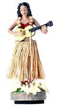 Dancing Hawaiian Hula Girl Car Dashboard Air Freshener Pina Colada Scent Bahama