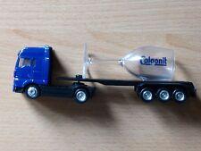 Modellino autocarro per birra Rimorchio trasporto Man ribassato Calgonit MK2