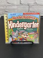 Reader Rabbit Kindergarten -- Origional Edition (PC, 1998)