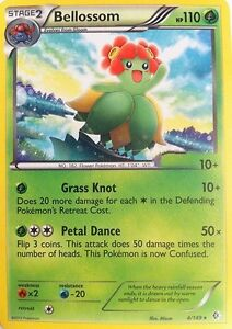 BELLOSSOM 4/149 - BW BOUNDARIES CROSSED POKEMON RARE CARD