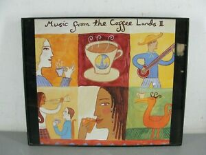 """MUSIC FROM THE COFFEE LANDS II ♨️ PICTURE ARTWORK WALL DECOR BLACK FRAME 10""""x8"""""""
