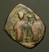 B30-09   BYZANTINE  Constantine X 1057-1067AD, AE Follis