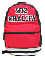 Wiz Khalifa Collegiate Backpack Red Bioworld