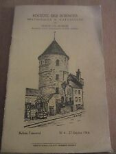 Société des Sciences Historiques & Naturelles de Semur-en-Aussois N°4, 27/10/66