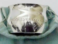 "Vintage TIFFANY & Co SILVER CUP ""Good Evening Captain"" Blue POUCH Free Shipping!"