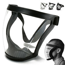 Active Shield Full Face Mask Sports Safety Protective Transparent Shield US 1PC