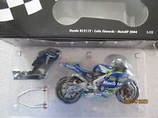 MINICHAMPS 1/12 HONDA RC211V COLIN EDWARDS 2004