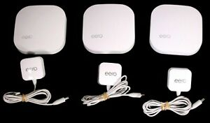 Eero Home WiFi System 3 Pack A010001 1st generation