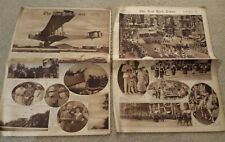 The New York Times Rotogravure Picture Section In Two Parts Sunday July 14, 1918