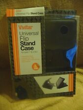 NWT VIVITAR IPAD 1/2/3 FLIP STAND CASE MULTI-POSITION ADJUSTABLE METAL CLASP