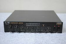 Boss PRO CL-50 Compressor Limiter made in japan Half-Rack