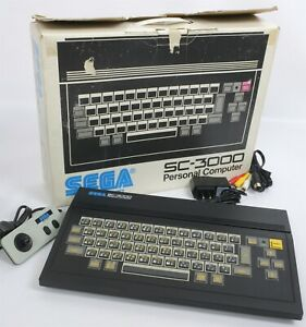 SC-3000 Personnel Ordinateur Console Sytem Emballé SEGA Testé H1110181 Japon Jeu