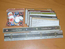 Charts and tokens for Axis & Allies 1942 World At War - 2009 ed. - Avalon Hill