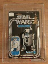 VINTAGE 1978 Kenner Star Wars Vintage 12 posteriore C R2-D2 AFA 80 RARO!!!