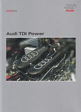 AUDI TDi POWER V12 Pressemappe Media-Kit 2006 ++++++++++++++++++++++++++++++++++