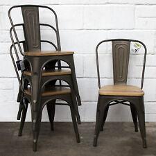 Buy Industrial Metal Kitchen Chairs   eBay