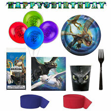 How To Train Your Dragon The Hidden World Birthday Deluxe Dessert Set-Serves 8