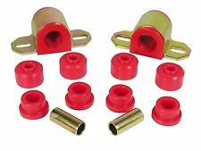 Prothane 84-00 Jeep Cherokee Comanche 1-inch Sway Bar & End Link Bushing Kit Red