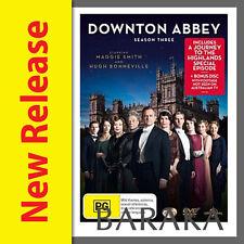 DOWNTON ABBEY COMPLETE SEASON SERIES 3 + 2012 Christmas Special DVD Box set R4