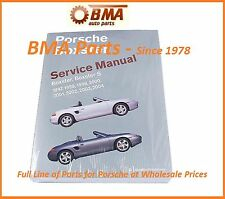 NEW PORSCHE BOXSTER BENTLEY SERVICE REPAIR MANUAL 97-04 PB04 PR 800 3004