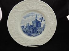 Wedgwood Duke University Collector Plate Kilgo Dormitory 1928
