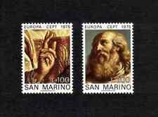 San Marino 1975 Europa/ Art complete set of 2 values (SG 1023-1024) MNH