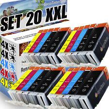 20x Druckerpatronen für Canon Pixma IX6550 IP4850 IP4950 MG5150 MG5250 MG5350