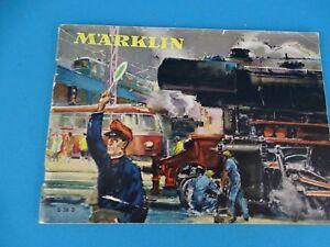 Marklin Katalog Catalog 1956 D