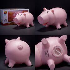 Cute Pink Piggy Toy Story Hamm PVC Figure Coin Bank Money Deposit Box Kids Gift