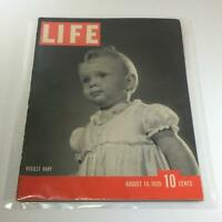 Vintage Life Magazine: August 14 1939 - Busiest Baby