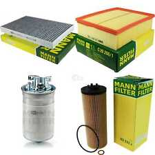 Mann-Filter paquete aire aceite combustible audi a6 avant 4g5 c7 4gd 2.0 TDI