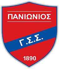 "Panionios GSS FC Greece Football Soccer Car Bumper Sticker Decal 4""X5"""