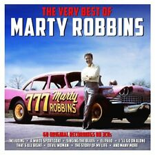 The Very Best Of Marty Robbins 60 Classic Songs on 3 CD Set White Sport Coat +++