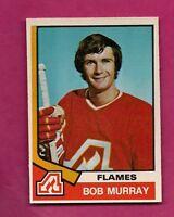 1974-75 OPC # 336 FLAMES BOB MURRAY ROOKIE NRMT CARD (INV# A1313)