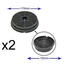 2 X PACK B&Q CATA Designair Cooke & Lewis Charcoal Cooker Hood Filter CARBFILT1