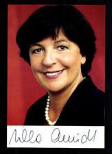 Ursula Schmidt AUTOGRAFO MAPPA ORIGINALE FIRMATO # BC 29602
