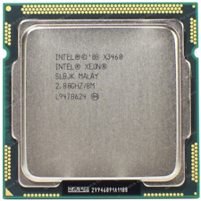 Intel Xeon X3460 2.8GHz/8M 4 Core 8 Threads LGA 1156 CPU ( Better than i7 860 )