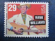 Hank Williams- the USPS commemorative stamp #2723