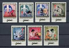 27525) GUINEA 1983 MNH** Nuovi** Koch TB Bacillus 7v