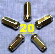 RALLYE WHEEL LUG NUTS 7/16 LONG FORMULA S CUDA DART DUSTER VALIANT MOPAR