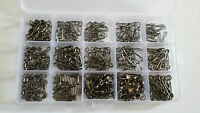 285 piece terminal tackle set with storage box - links/snaps/swivels/crimps