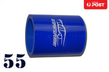 "Silicone Straight Coupling Radiator Turbo Coupler Hose 4-ply 55mm (2.16"") Blue"