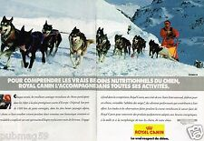 Publicité advertising 1993 (2 pages) Aliment pour chien Royal canin Alpirod