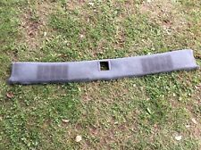 1986 1987 1988 monte carlo cutlass package tray deck trim panel gray g-body