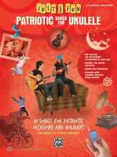 JUST FOR FUN-PATRIOTIC SONGS FOR UKULELE W/TAB MUSIC BOOK BRAND NEW ON SALE!!