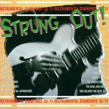 STRUNG OUT  ! - UK GUITAR INSTRUMENTALS 1963-71 - SANCTUARY  - 2 CD SET - U.K.