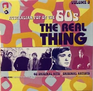 AUSTRALIAN POP OF THE 60's VOL 3 - RARE - DOUBLE CD ALBUM - 2010 - FREE UK POST