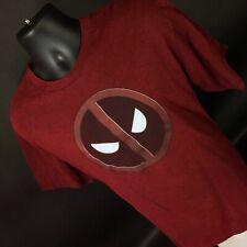 Marvel Deadpool Red short sleeve tshirt Size XL