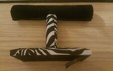 Raymond Waites Zebra Print Bracelet Jewelry Bar Stand